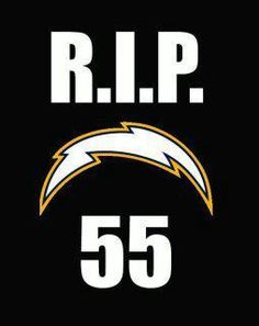 San Diego will miss you Jr Seau. Thank you for all you've done within our community.
