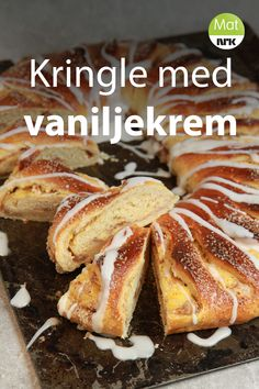 Norwegian Cuisine, Norwegian Food, Norwegian Recipes, Cake Recipes, Dessert Recipes, Dessert For Dinner, No Bake Desserts, Bread Baking, No Bake Cake