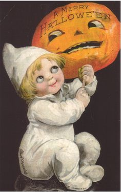 Fresh Vintage by Lisa S: Vintage HALLOWEEN Postcard Printables - cartoline d'epoca - halloween cards