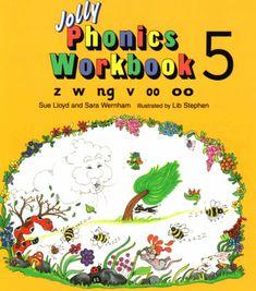 Free Phonics Workbooks (z, w, ng, v, 00, oo) ⋆ Download PDF Free