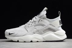 dcf2b4794d0a Nike Air Huarache Run Ultra Suede ID Grey Black-White 829669-101