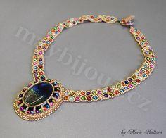 """""""Dazzling Rainbow"""" necklace by Majka"""