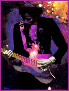 fine art Jimi Hendrix   Purple Haze  nicholas meola by bubbleparty on Etsy, $180.00 free shipping
