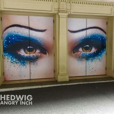The new eyes of Hedwig #Broadway