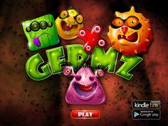 Germz Game 2014 by Maxim Liviu, via Behance