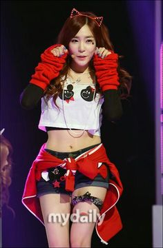 Tiffany (Girls' Generation) I GOT A BOY Not in love with the ears but everything else is cute!