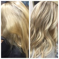 Here's Every Last Bit of Balayage Blonde Hair Color Inspiration You Need. balayage is a freehand painting technique, usually focusing on the top layer of hair, resulting in a more natural and dimensional approach to highlighting. Balayage Blond, Blonde Hair With Highlights, Balayage Highlights, Ombre Hair Color, New Hair Colors, Thin Hair Styles For Women, Long Hair Styles, Neutral Blonde Hair, Blonde Hair Extensions