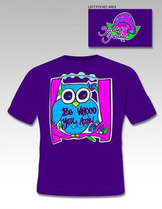 Sassy Frass Funny Be Who you are Owl Sweet Girlie Bright T Shirt – SimplyCuteTees