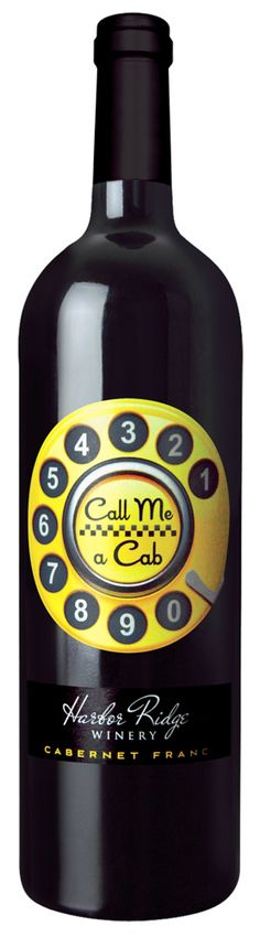 Una llamada!! Harbor Ridge Winery Label by WestcottDesign.com PD
