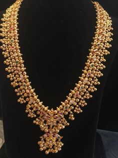 South Indian gold necklace