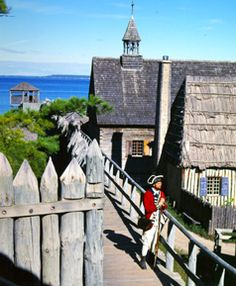 Fort Michilimackinac, Mackinaw City, Michigan.