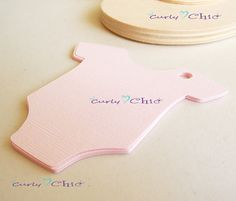 30 Baby Onesie Tags Size 3 In Nontextured or by CurlynChic on Etsy, $3.20