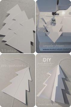 DIY Paperikuusi