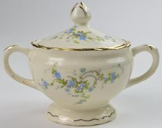 Pope Gosser | Fleurette, Sugar Bowl, Replacement China