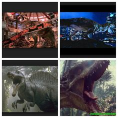 Jurassic Park- The Trilogy's Big Predators