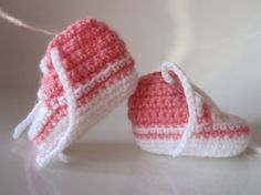 Crochet Converse Newborn High Tops by AnnaSHandMD on Etsy,