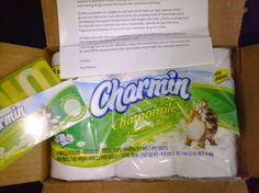 6 pack of Charmin plus the scent of Chamomile from BzzAgent!!!
