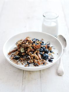 Crunchy Buckwheat Granola | Healthy Breakfast Recipes from @cydconverse