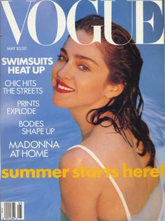 US Vogue May 1989 : Madonna by Patrick Demarchelier