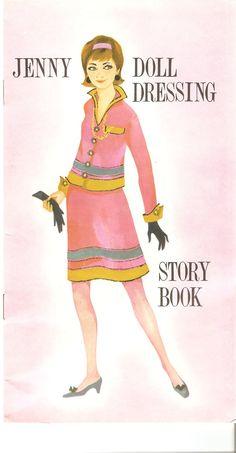 JENNY Doll Dressings Date: 1960s Publisher: Belgian