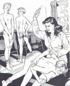 Naked girl Reluctant spank