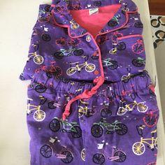 Munki munki Nite Nite Bike Love Cotton Flannel Pajama Set NWT S purple Womens Pjs, Best Deals, Blouse, Cotton, Ebay, Pajama Set, Flannel, Shopping, Amazon