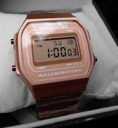 86d5299a3a01 Reloj Rosa A168 Retro Cobre Vintage Rose Gold Envio Gratis