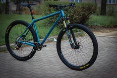 https://flic.kr/p/UCbGbz | SingleBe Blue Motion 29er | Sportive 29er from Dedacciai ZeroUno steel.