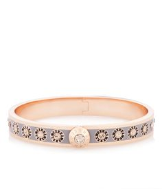 The Petite Rivet Stone Bangle bracelet is luxury jewelry you'll love to show off this season.