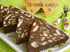 Bisküvili Mozaik Pasta Resimli Tarifi - Yemek Tarifleri