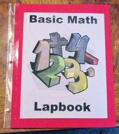 Free Basic Math Lapbook