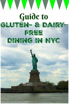 Guide to gluten-free and dairy-free dining in NYC. These restaurants in New York City are paleo and vegan-friendly too.