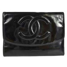 2cbaffa052dd Get the lowest price on Patent Leather Long Tri-Fold Wallet Envelope Clutch  CC and other fabulous designer clothing and accessories! Shop Tradesy now