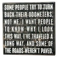 I completely agree.  Some of the roads were definitely unpaved.  But the road less traveled always has joys of it's own.