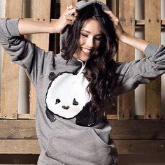 """""""Baby Panda"""" Pullover Hoodie / Steppie Clothing"""