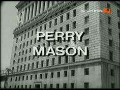 Perry Mason Raymond Burr, Tv Themes, Perry Mason, Quirky Art, Ol Days, Me Tv, Good Ol, Classic Tv, Tv Videos