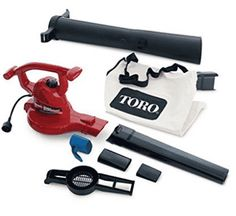 Toro 51619 Ultra Blower/Vac, Red (Corded) Price: (as of - Details) Toro is the Rated brand. The ultra electric blower Vac delivers all. Vacuum Bags, Vacuum Tube, Cord Storage, Mode Top, Home Tools, Leaf Blower, Lawn And Garden, Garden Tools, Garden Supplies