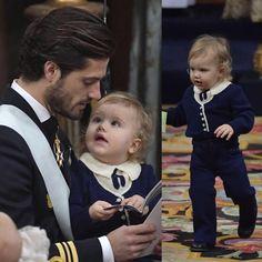 Prince Gabriel's christening (1st December) . Prince Carl Philip and Prince Alexander of Sweden