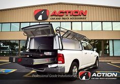 Check out this build by our store in Hamilton ON! - Cargo Ease locker and slide with a custom wire fence roller. - Custom rope lighting in the side tool boxes - Roof Rack by Cargomaster - DCU cap by A. Truck Caps and Tonneau Covers Lawn Trailer, Rope Lighting, Truck Caps, Camper Shells, Cummins Diesel, Infused Water Bottle, Wire Fence, Tonneau Cover, Fitness Gifts