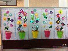 Bahar Çiçekleri, Saksılı çiçek yapımı