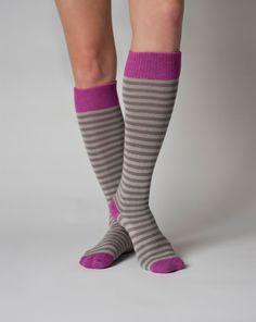 Annabel- Organic Cotton Knee Socks