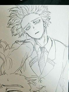 My Hero Academia Memes, Hero Academia Characters, My Hero Academia Manga, Anime Characters, Comic Anime, Me Anime, Anime Art, Art Sketches, Art Drawings