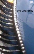Crystal CarLashes Eye Liner Girly Car Accessory