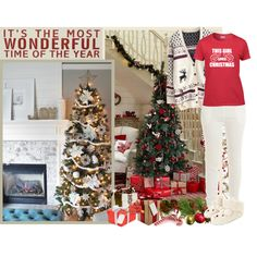 Winter holiday outfit - Contest! by asia-12 on Polyvore featuring T By Alexander Wang, Accessorize, Heaven Sends, Winter and Christmas