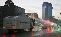 Yabancı ajanslar Gezi Parkı'ndaki olayları böyle gördü