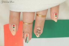 uae national day nail art