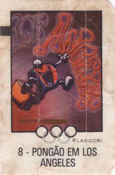 copa do mundo - Seleção do Povo - Olimpíadas 1984
