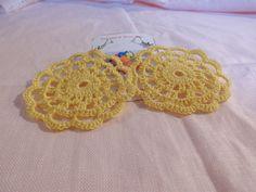 Orecchini romantici gialli