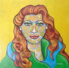 """""""EVA FLOREADA"""" Maria Martha Diez Art"""
