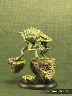 Void Wretch, Nightmare Edition, 3 of 3. Model by Wyrd Miniatures, painted by Stinkmunk (October 2013). #Malifaux